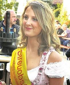 Streuobstkönigin, Sarah Maisch