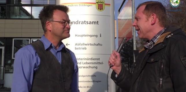 Mit Manfred Nuber, Fachberater für Obst und Garten vom Landratsamt Böblingen