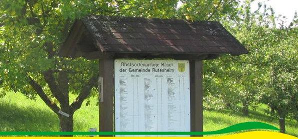 Obstsotenmuseum Häsel Hinweistafel