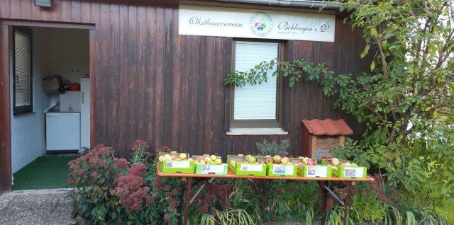 Eine kleine Obstsortenausstellung